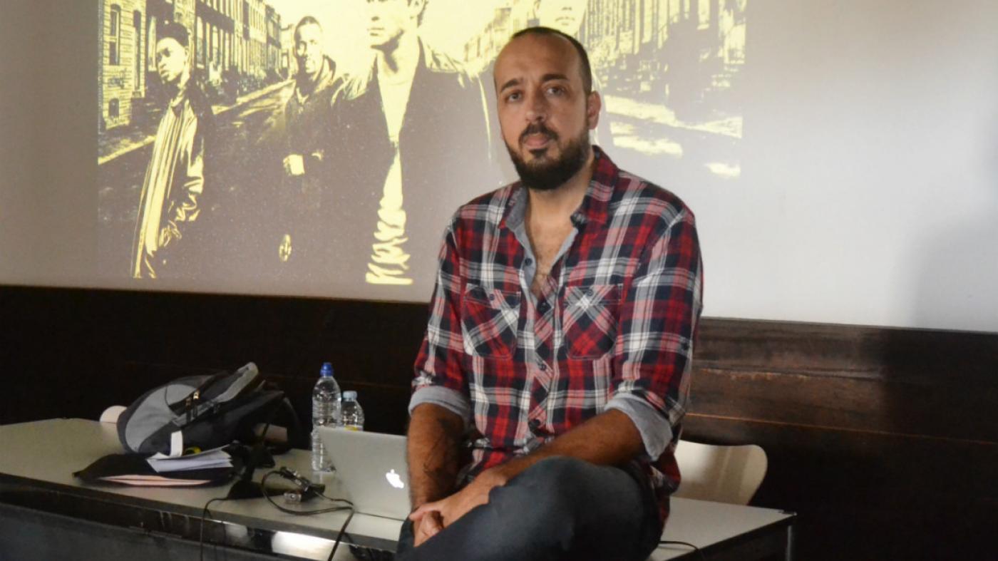 Imágenes sin cuerpo, espectros poscinemáticos.  José Manuel López