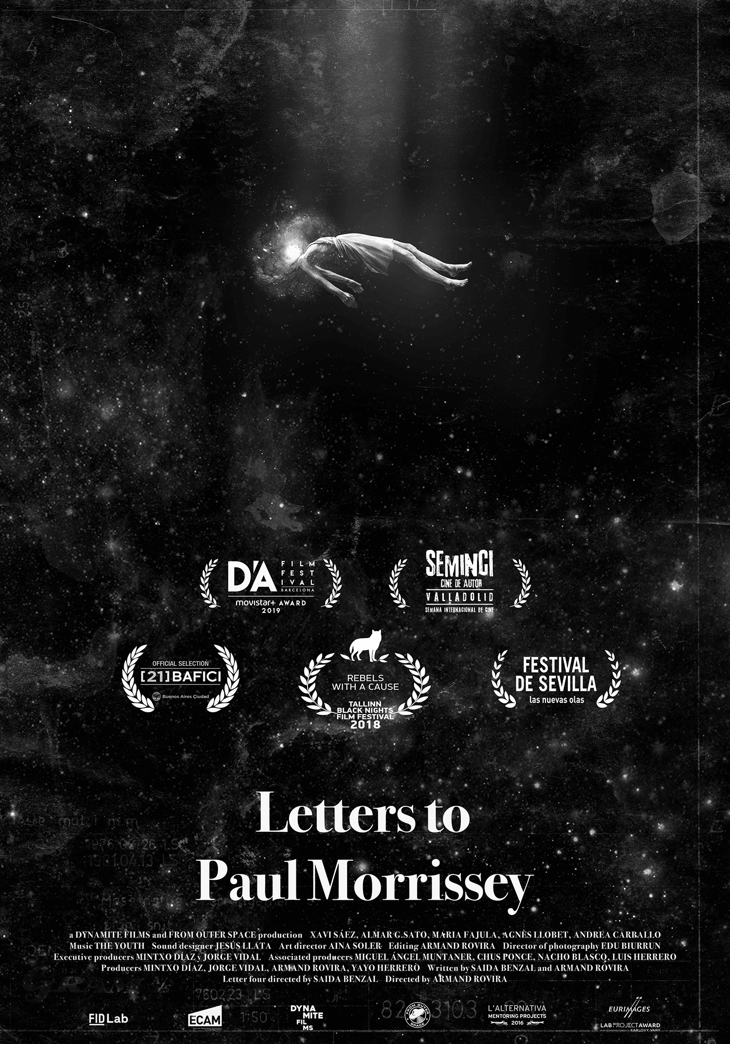 Poster Letters to Paul Morrissey C